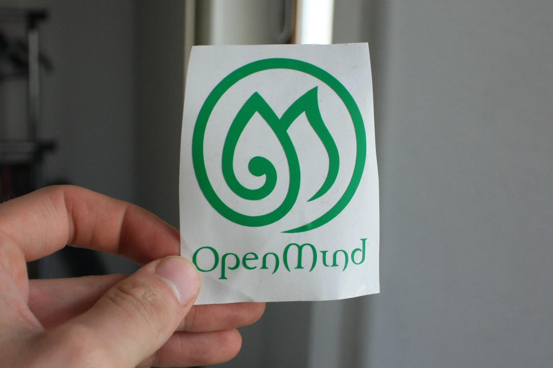 Open Mind Festrival Sticker